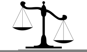 Clipart Scale Justice.