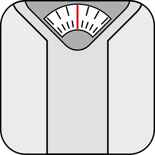 Weighing Scales Clipart.