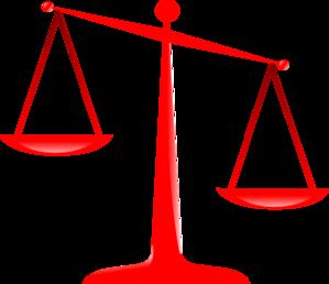 Transparent Scales Of Justice Clip Art at Clker.com.