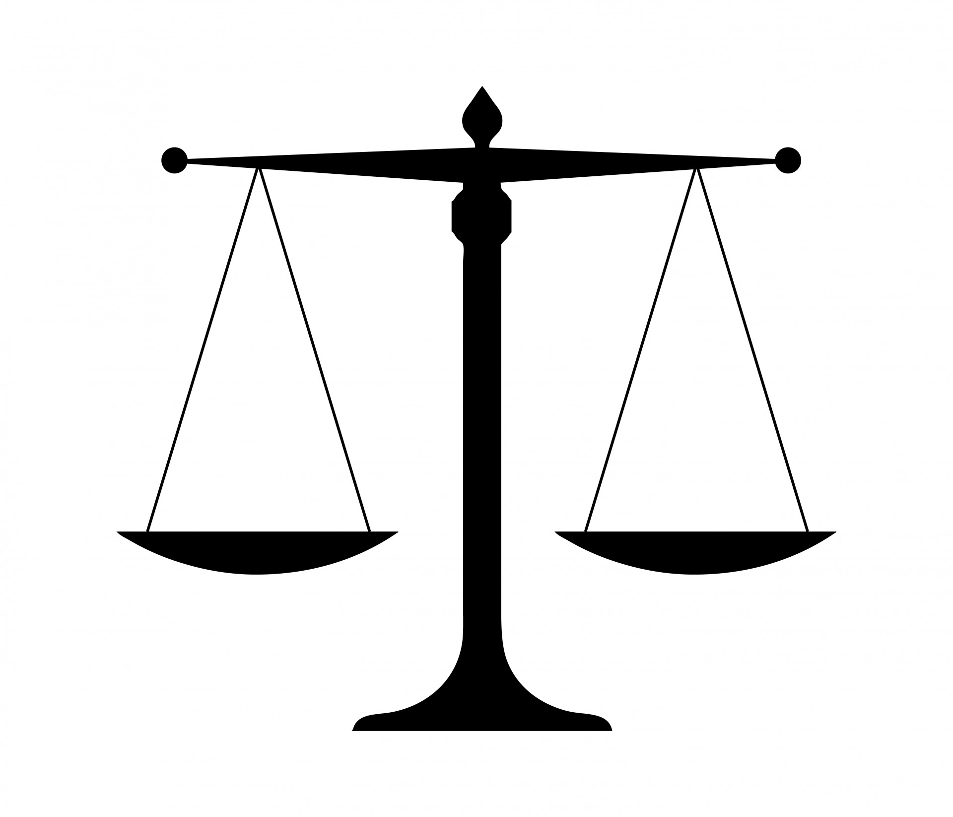 Scales Of Justice Free Stock Photo.