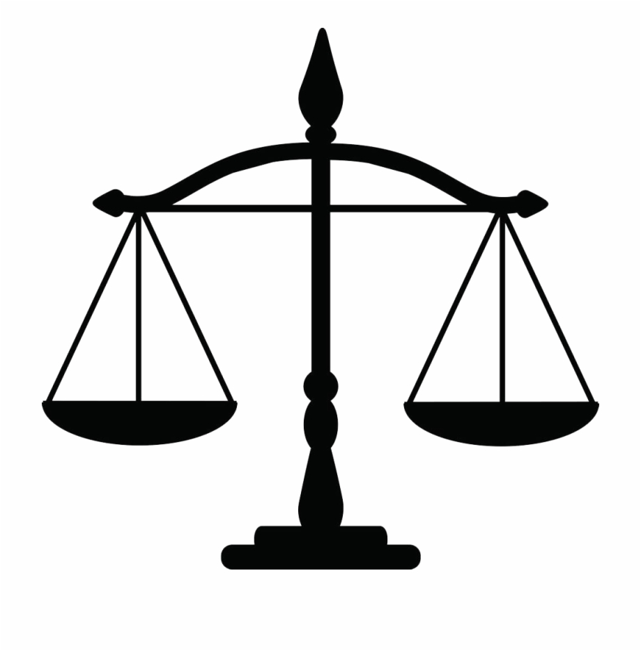 Justice Weighing Scale Law Clip Art.