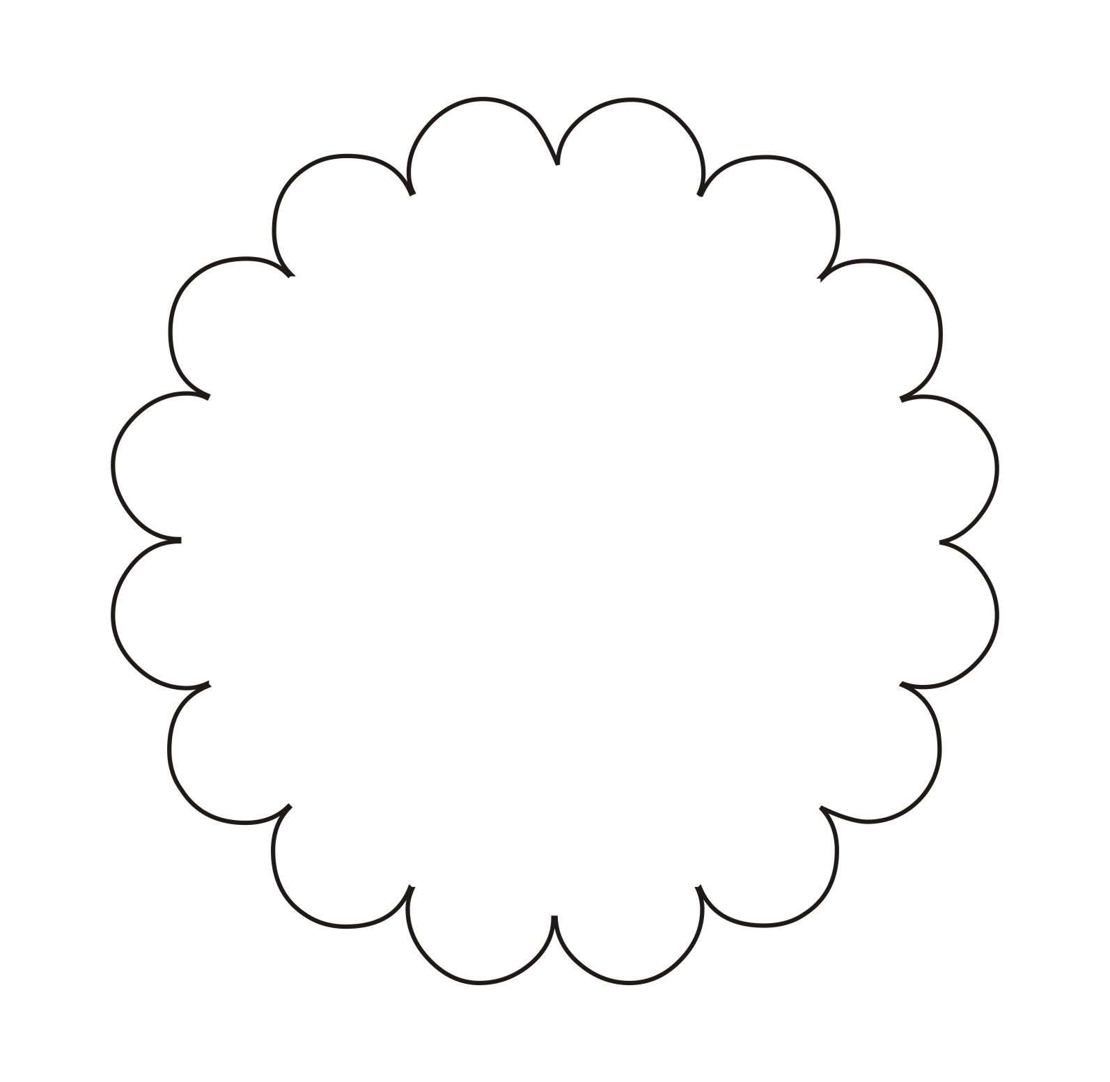 Free Scallop Circle Png, Download Free Clip Art, Free Clip.