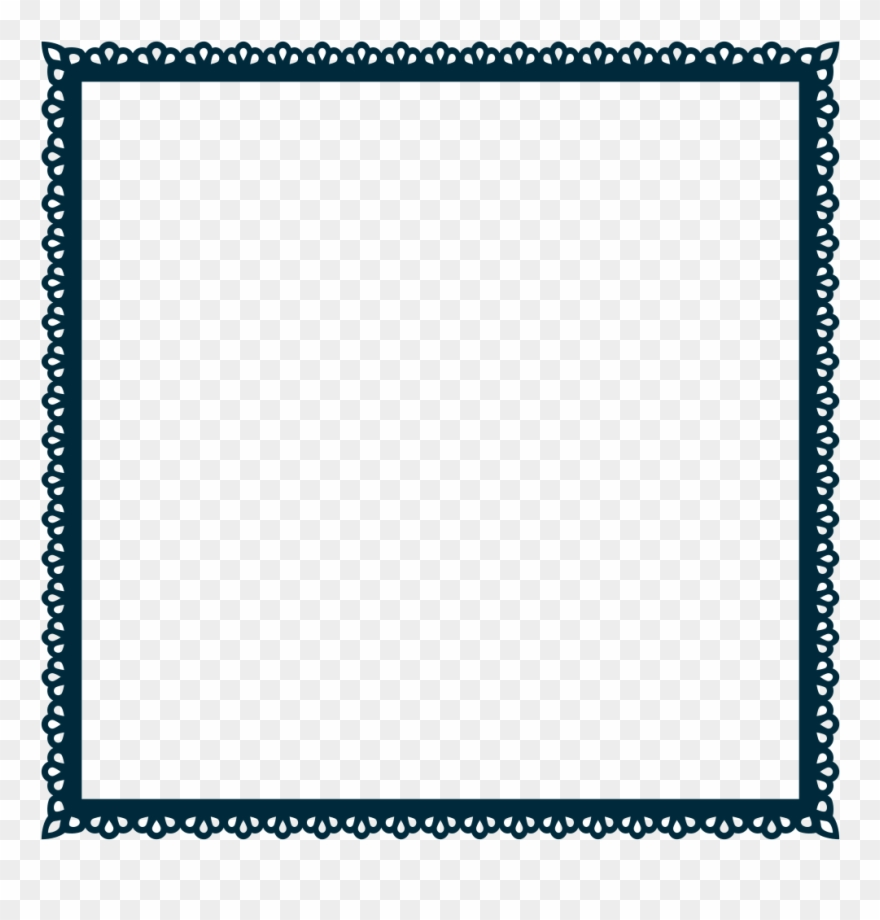 Svg Freeuse Onlinelabels Clip Art Scallop Frame Extrapolated.