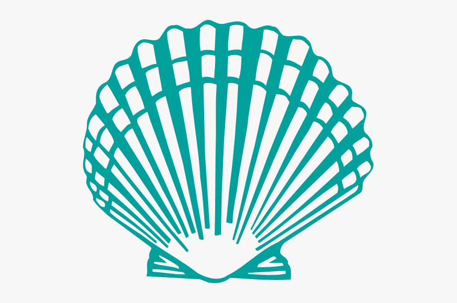 Scallop Shell Clip Art.