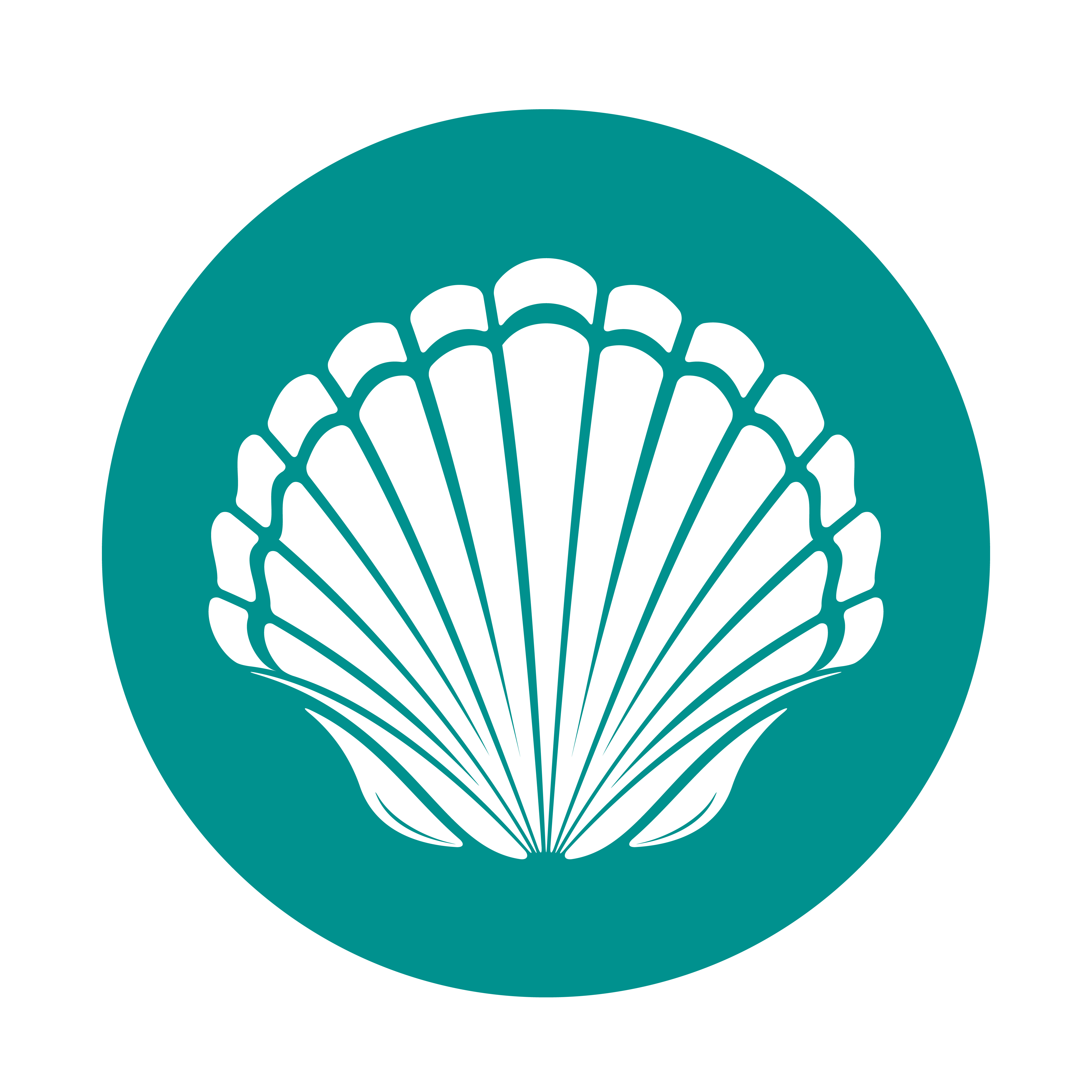 Scallop Shell Free Vector Art.
