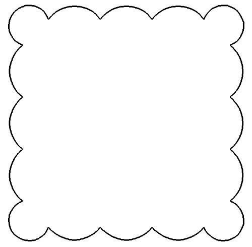 Free Scallop Patterns for Scrapbooking.