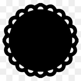 Scallop Circle PNG and Scallop Circle Transparent Clipart.