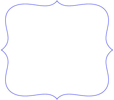 Scalloped Edge Border Clipart.