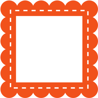 scalloped frame png.