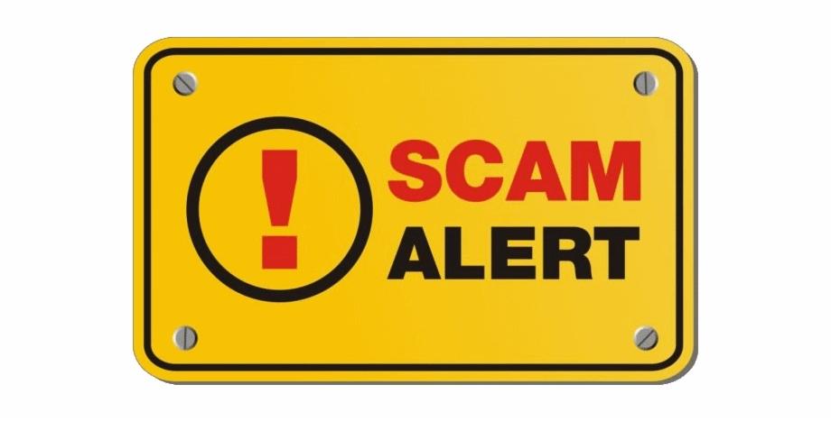 Phishing Scam Alert.