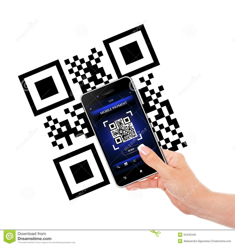 Qr code clipart.