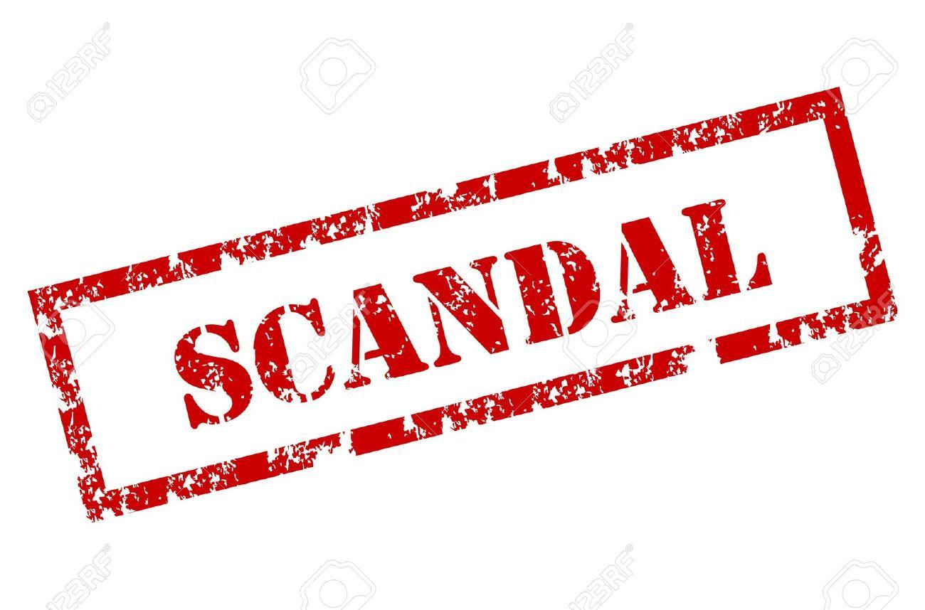 scandal: Scandal stamp.