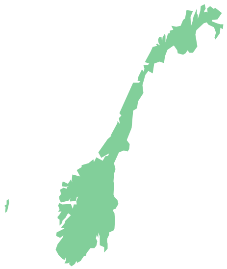 Outline Map Of Scandinavia.