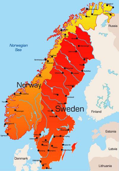 Scandinavia Clip Art, Vector Scandinavia.