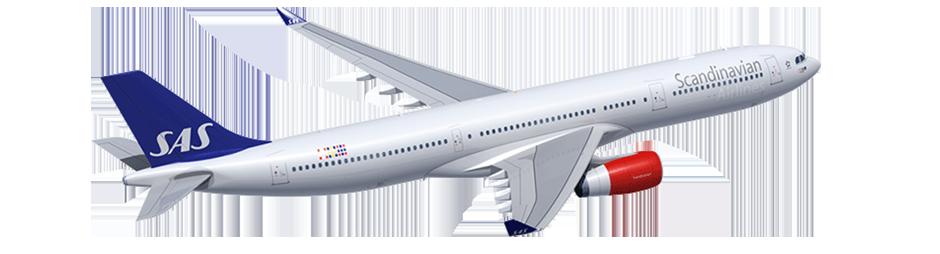 Scandinavian Airlines +1.
