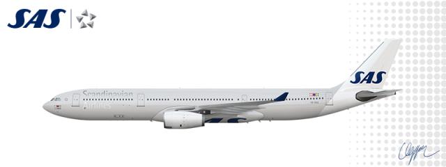 SAS Scandinavian Airlines.