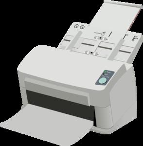 Sheet Fed Scanner Clip Art at Clker.com.