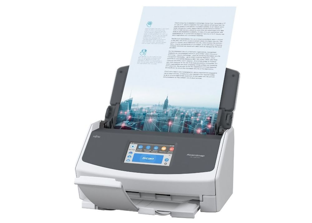 Fujitsu ScanSnap iX1500 Document Scanner.