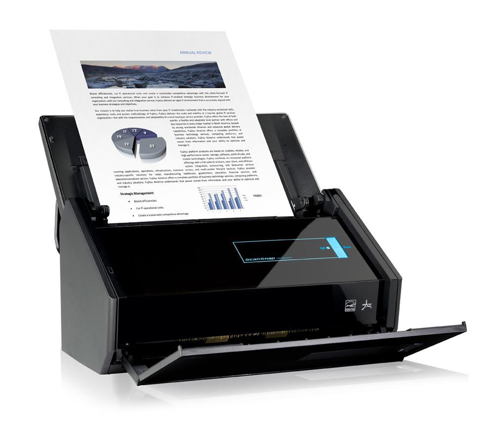 Fujitsu ScanSnap iX500.