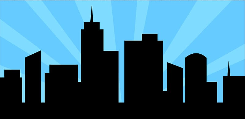 Cityscape Skyline , City Scape transparent background PNG.