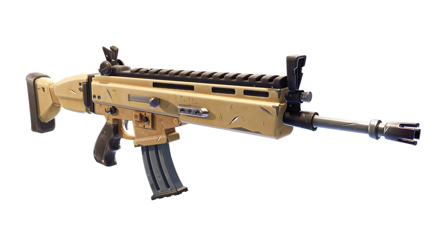 Download Free png fortnite scar png.