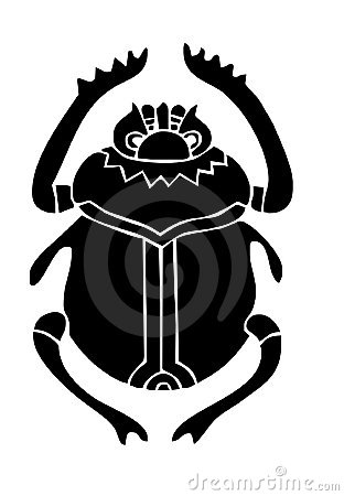 Scarab Beetle Stock Illustrations.