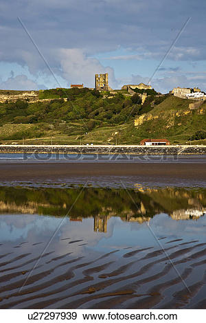 Stock Photograph of England, North Yorkshire, Scarborough.