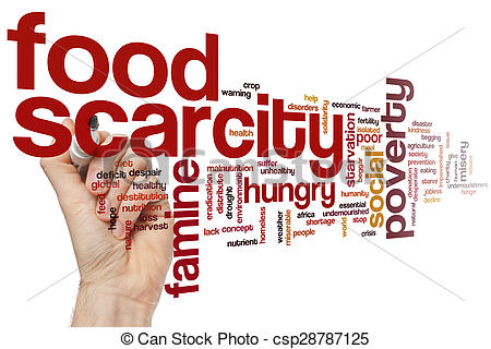 Food scarcity clipart.