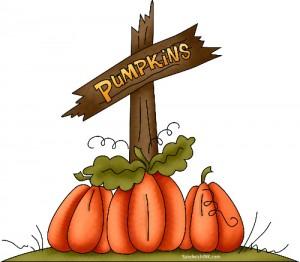 Happy Halloween Pumpkin Clip Art.