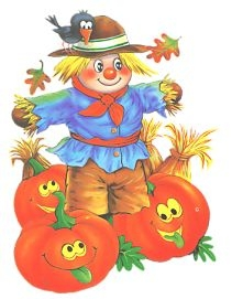 Scarecrow And Pumpkin Clipart.