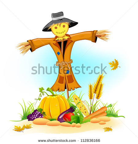 Scarecrow Stock Images, Royalty.