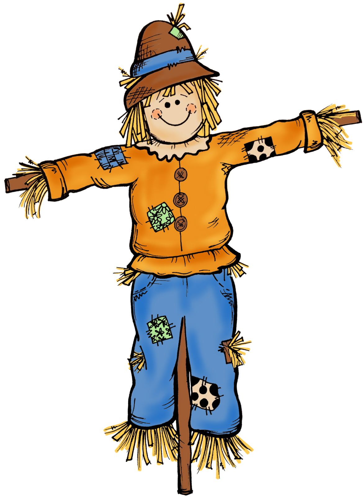 Best Scarecrow Clipart #5324.
