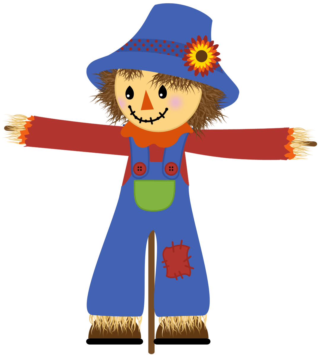 Best Scarecrow Clipart #5325.