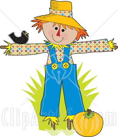 Scarecrow Clip Art.