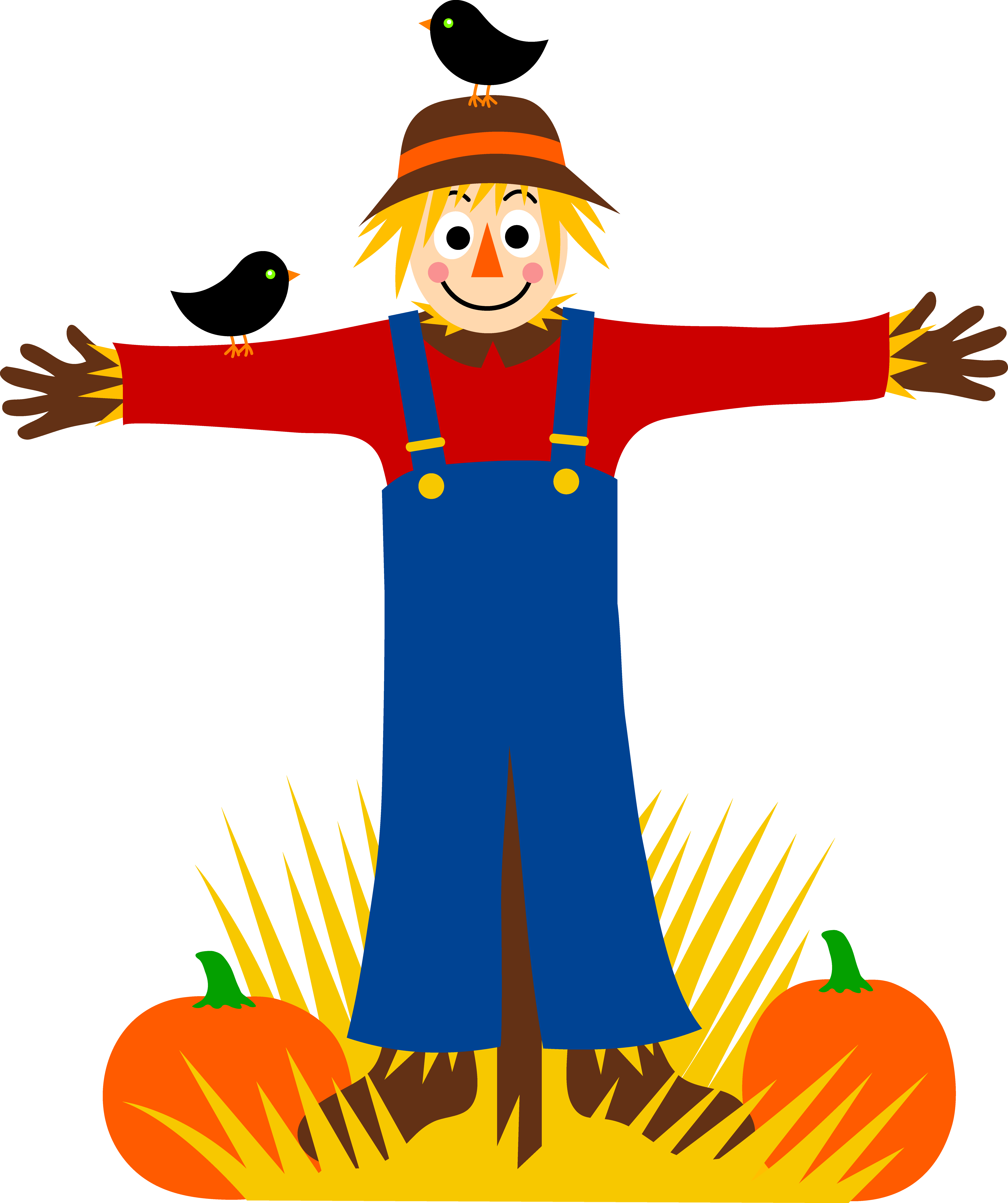 Free scarecrow clipart pictures 2.