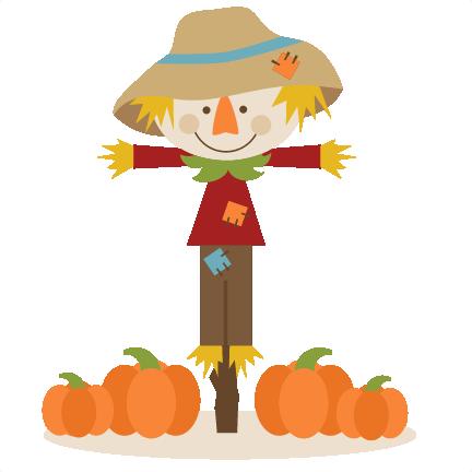 Fall Scarecrow Clipart.