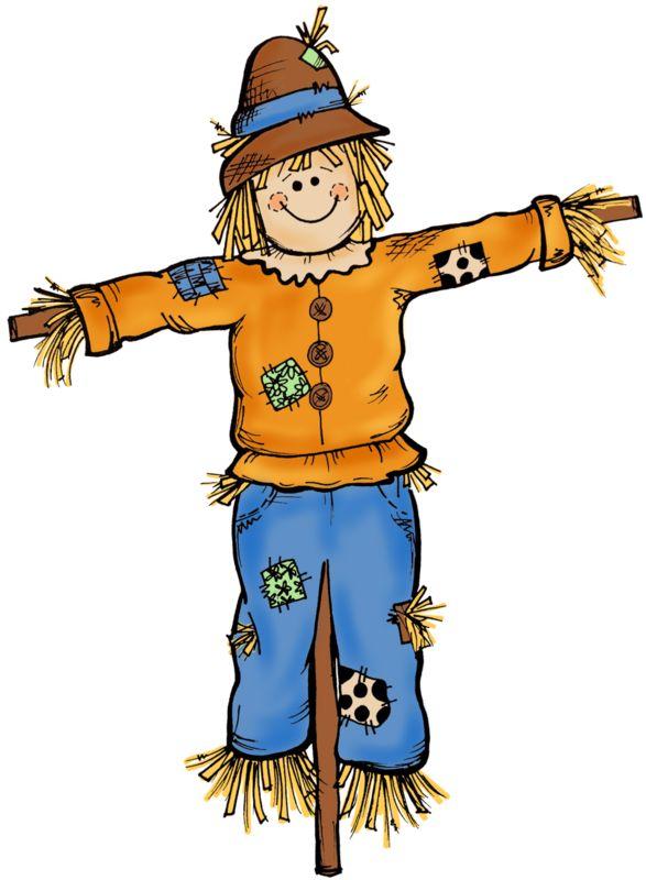 Autumn Scarecrow Clipart.