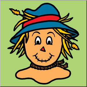 Scarecrow Hat Clipart.