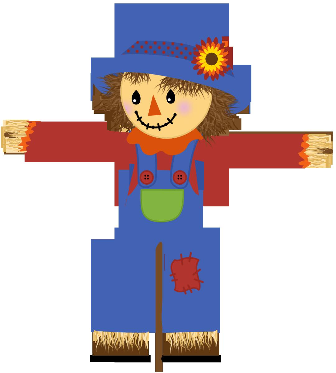 Cute Scarecrow Clipart.
