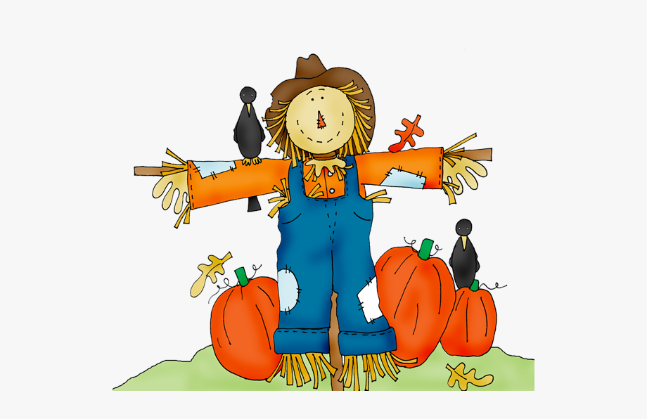 Scarecrow Clipart Fall Festival.