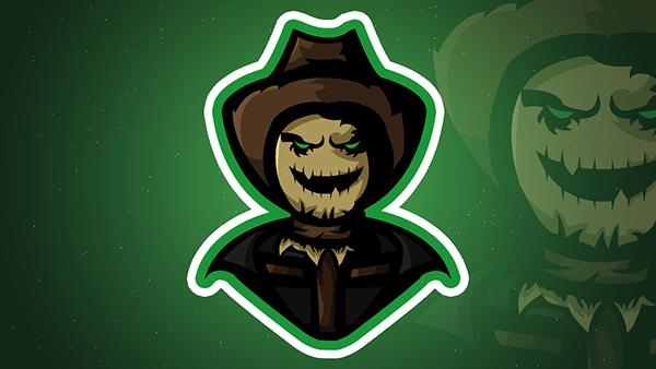 ScareCrow mascot / esports logo.