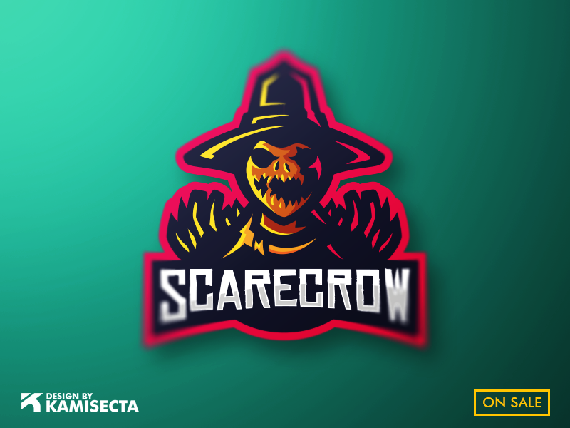 Scarecrow logo by kamisecta on Dribbble.