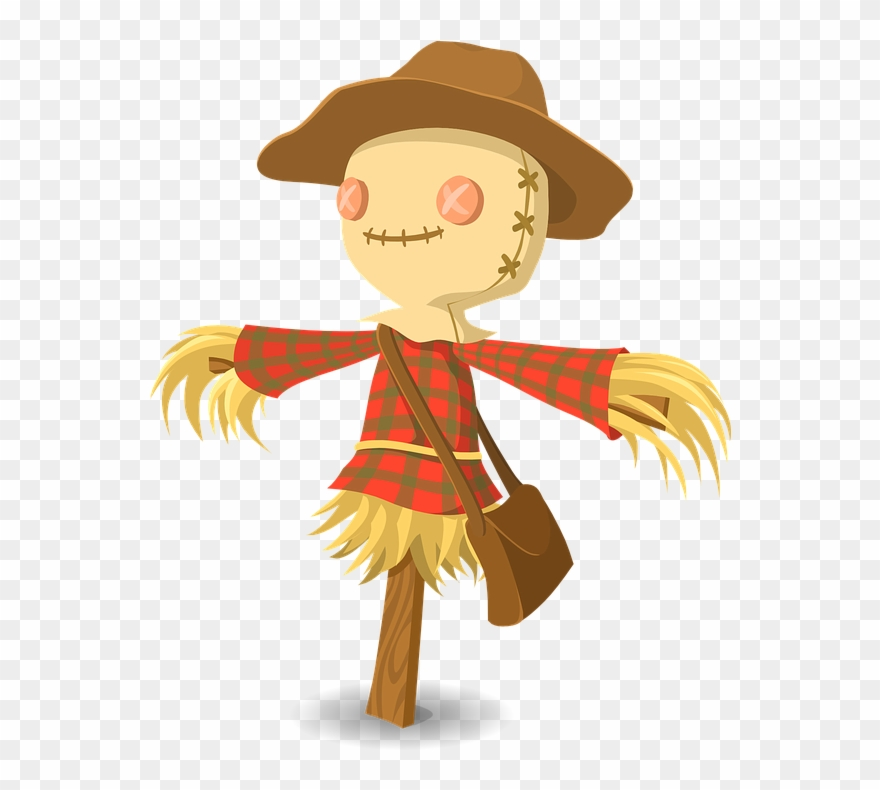 Scarecrow Clipart , Png Download.