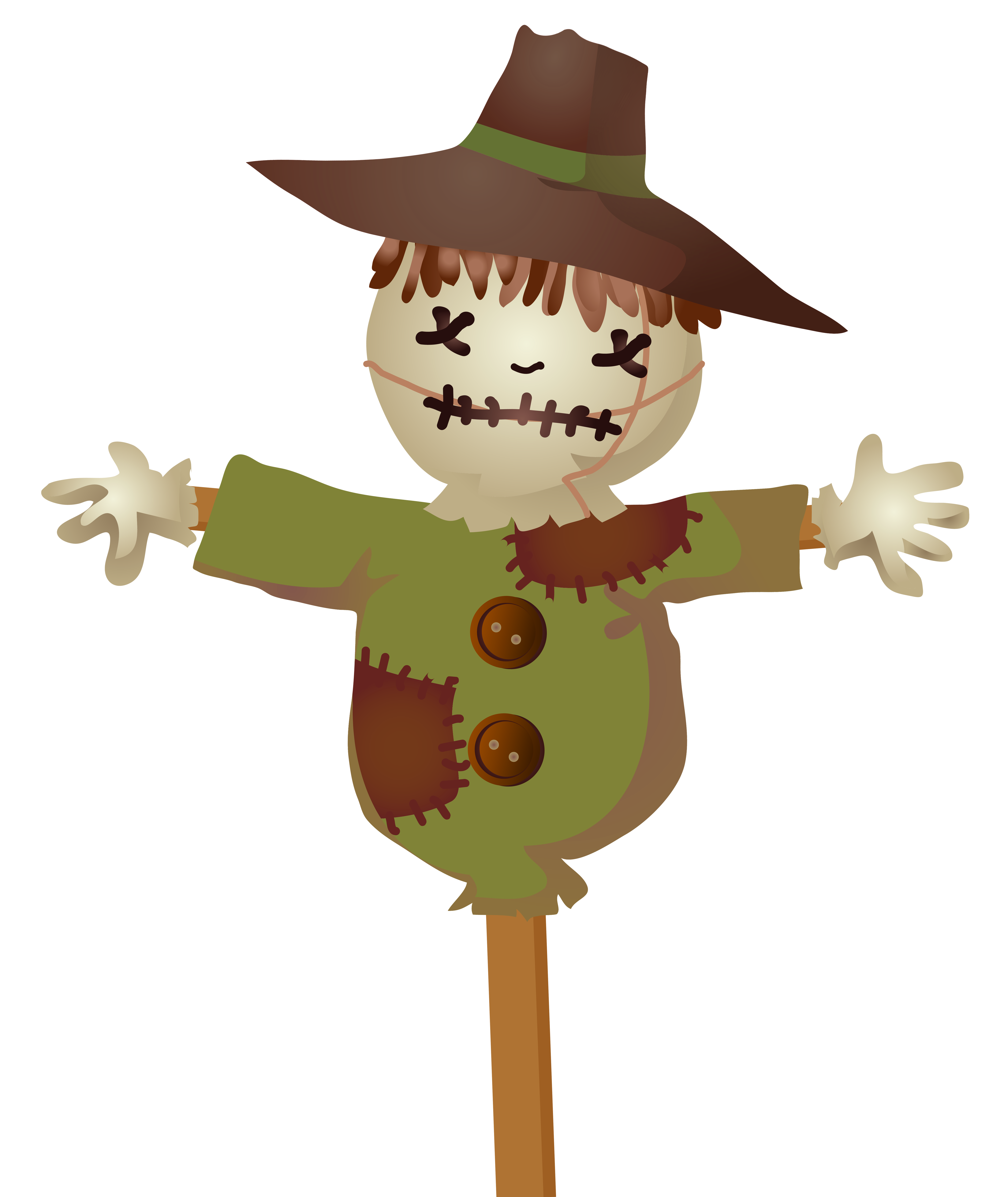 Scarecrow PNG Clip.