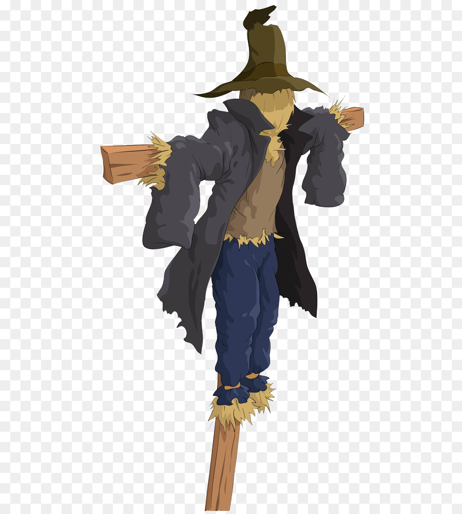 Scarecrow Outerwear png download.