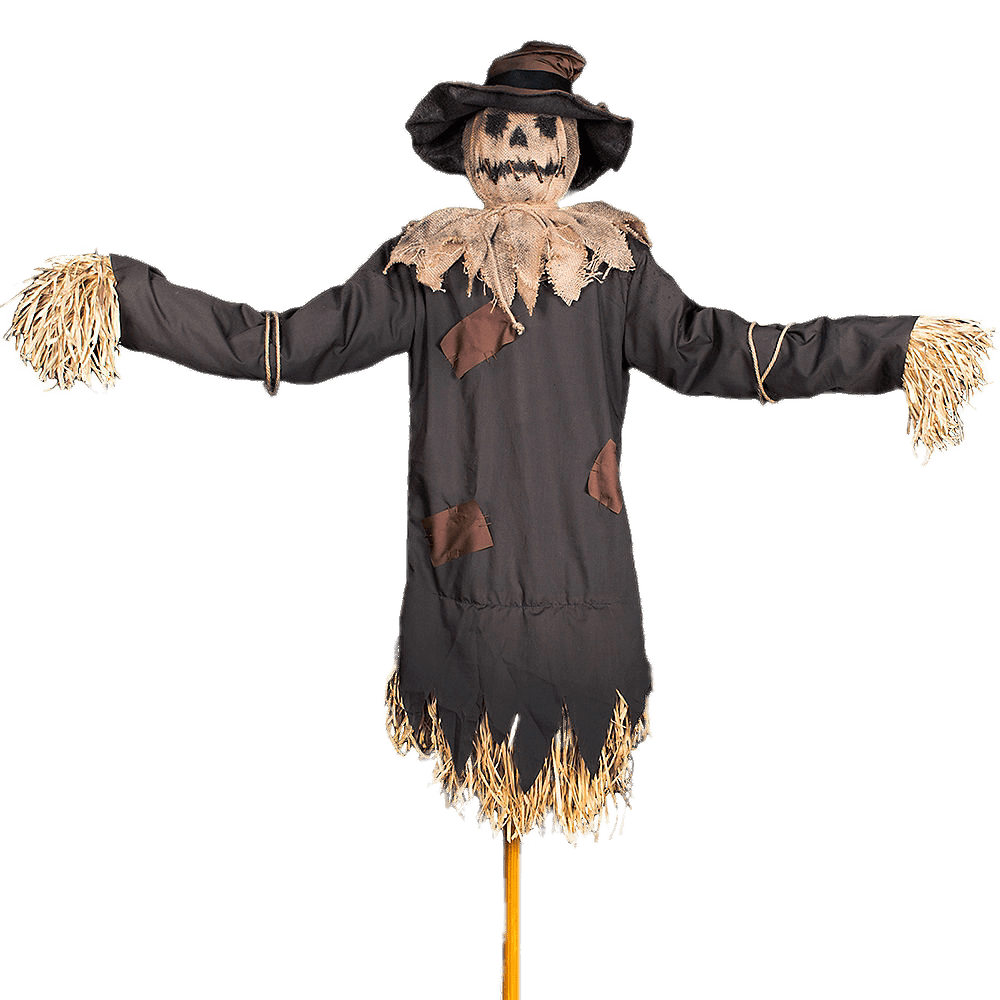 Haunted Scarecrow transparent PNG.