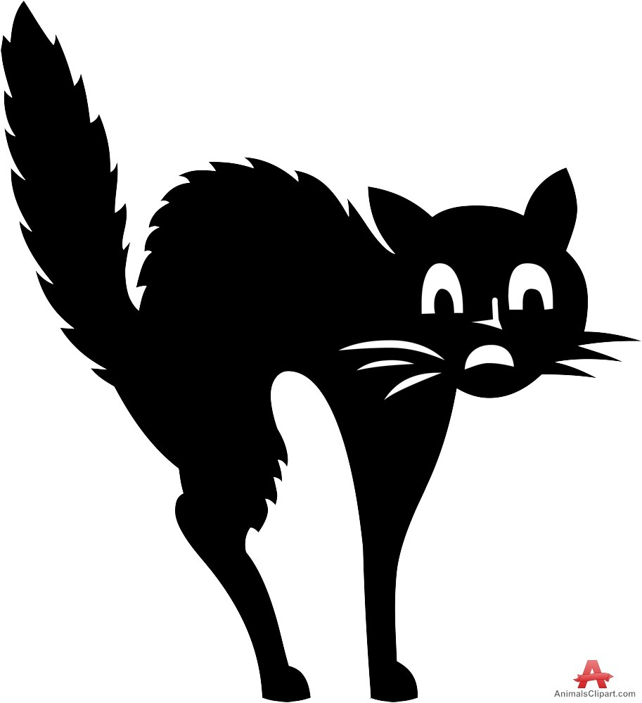 Scared cat clipart 2 » Clipart Station.