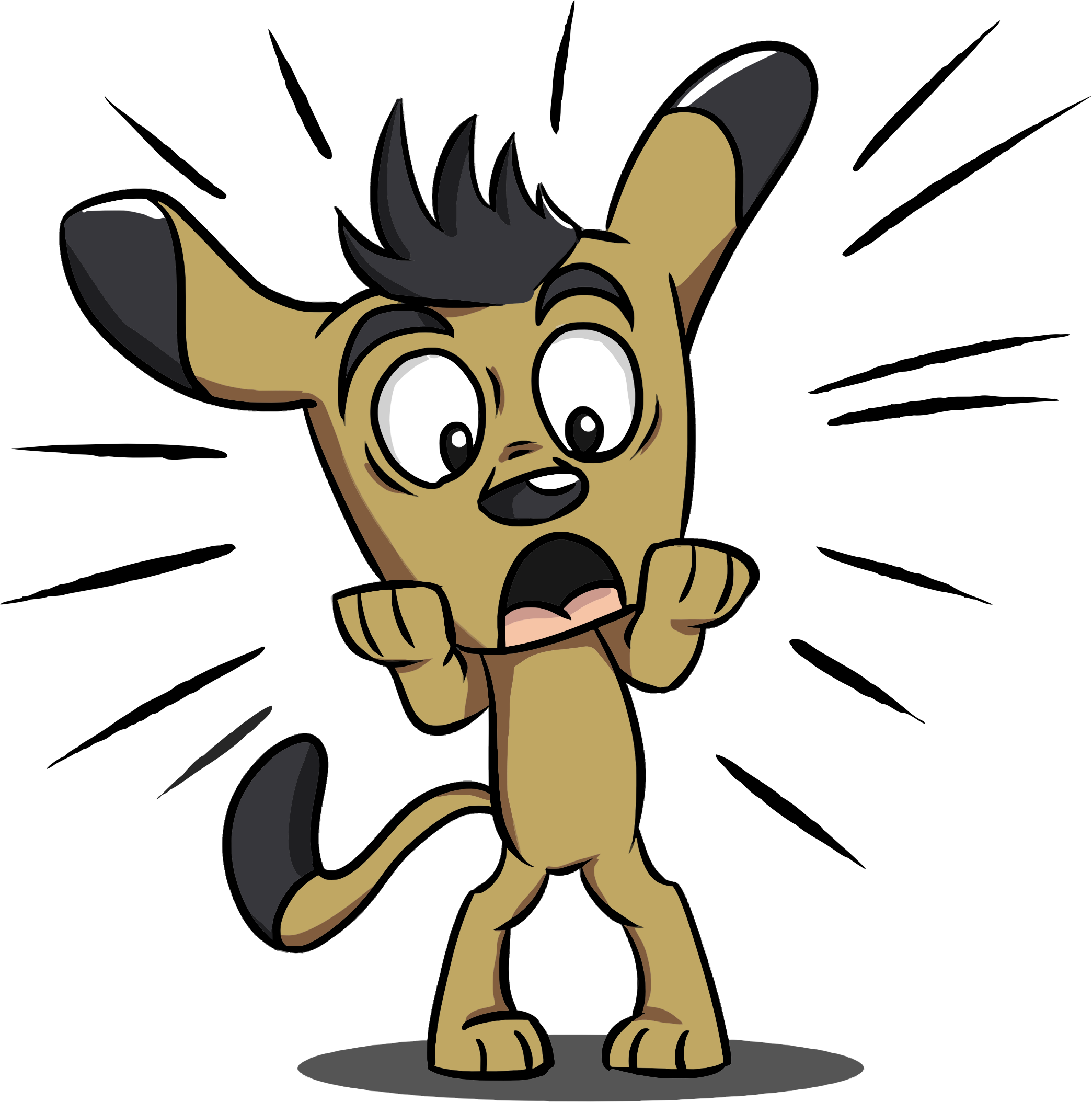 Free Scared Dog Cliparts, Download Free Clip Art, Free Clip.