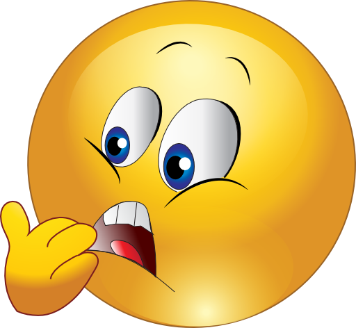 Scared Smiley Emoticon Clipart Royalty Free Public.