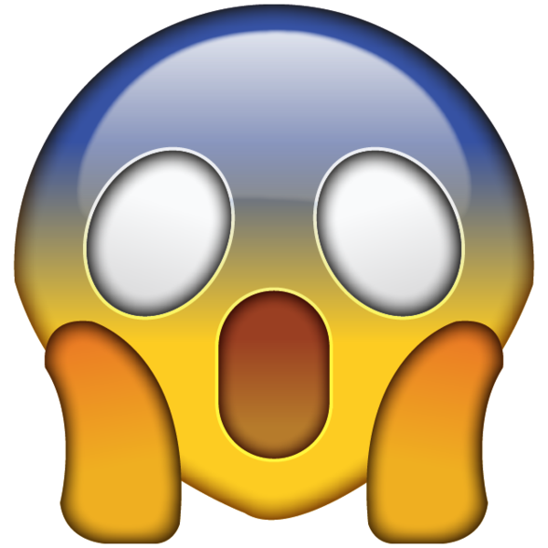 OMG Face Emoji.